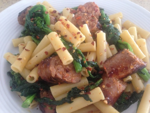 Ziti with Broccoli Rabe & Sausage